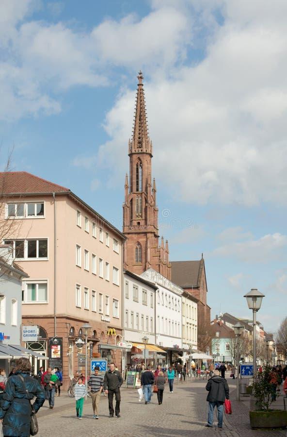 Free Hauptstrasse, Offenburg, Germany Royalty Free Stock Photo - 30904625