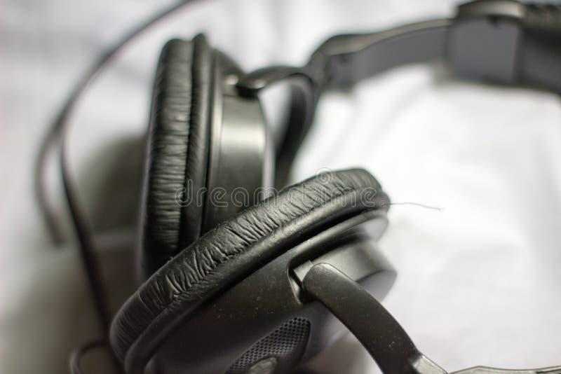 Haupttelefone schließen oben lizenzfreie stockfotografie