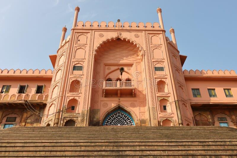 Haupttor, von taj - UL - masjid, Bhopal, Madhya Pradesh, Indien lizenzfreie stockfotos