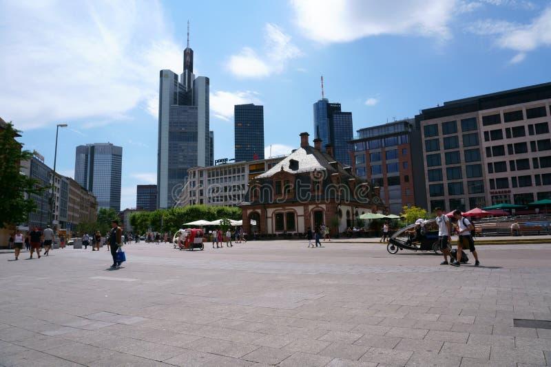 Hauptwache Frankfurt stock foto's