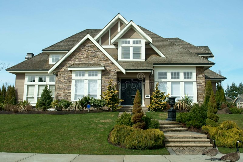 Haus-Äußeres stockbilder