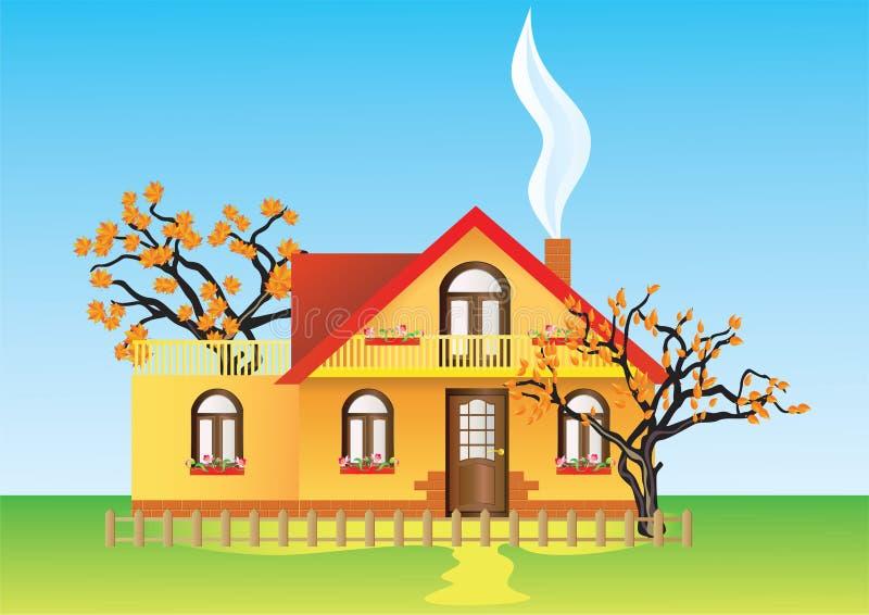 Haus. lizenzfreie abbildung