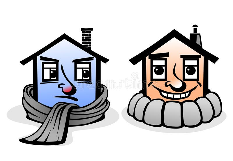 Haus lizenzfreie abbildung