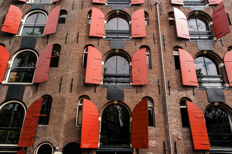 Haus in Amsterdam lizenzfreies stockfoto