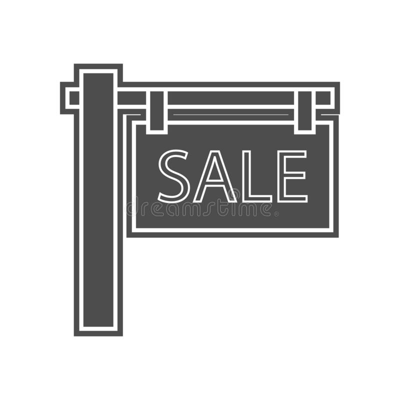 Haus auf Tablettenschirmikone Element von minimalistic f?r bewegliches Konzept und Netz Appsikone Glyph, flache Ikone f?r Website vektor abbildung