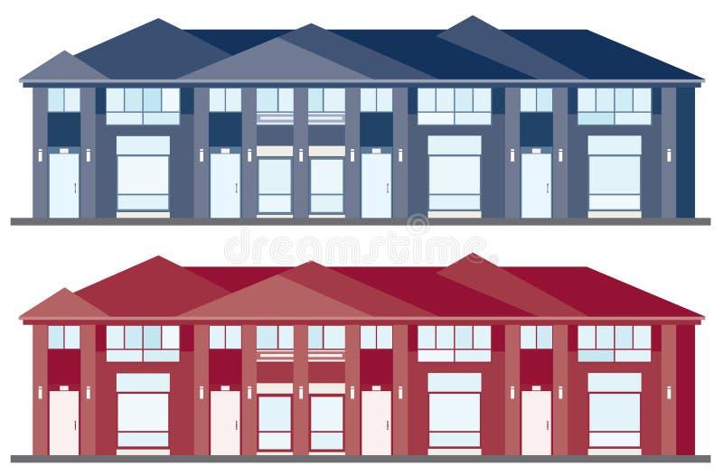 Haus-Auslegungen vektor abbildung