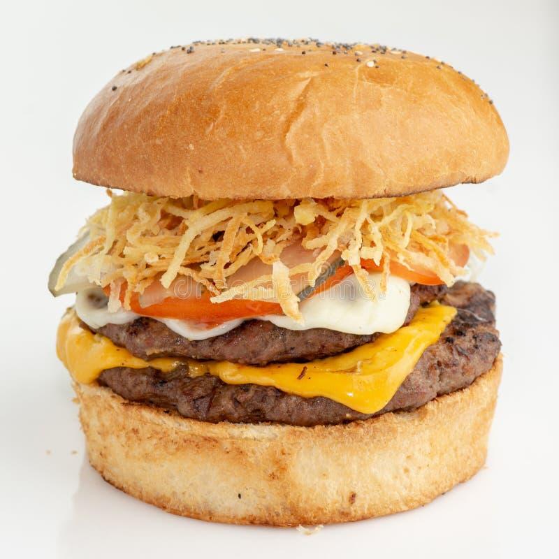 Haus bildete Burger stockfotografie