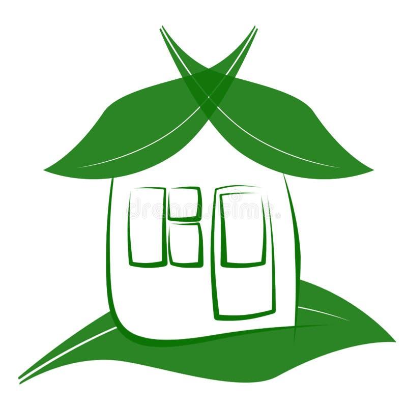 Haus de Eco imagen de archivo libre de regalías