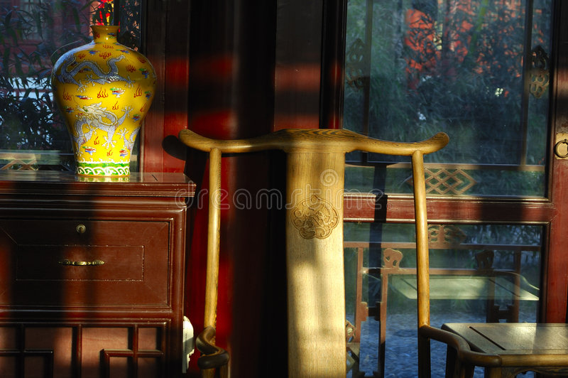 Haus der chinesischen Art lizenzfreies stockfoto