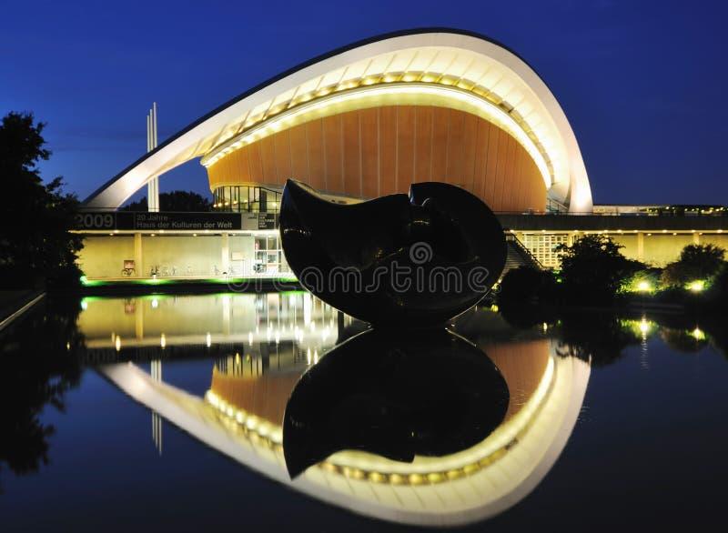 Haus der Kulturen der Borte lizenzfreies stockfoto
