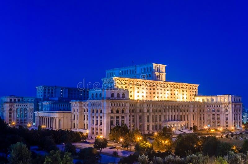 Haus der Leute, Bukarest lizenzfreies stockbild
