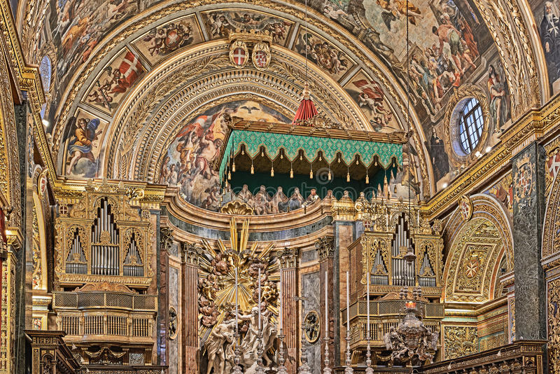 Haus der Ritter von Malta lizenzfreies stockfoto
