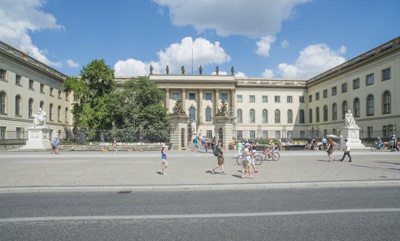 Haus der Universität Humboldt Berlin Deutschland Europa lizenzfreie stockfotografie