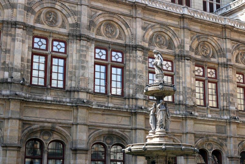 Haus der Wiener Staatsoper stockfotografie