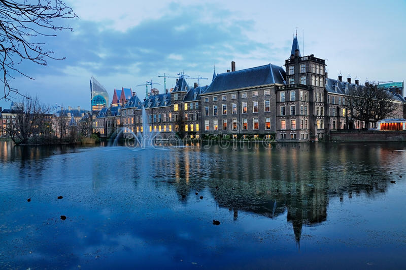 Haus des Parlaments, Den Haag lizenzfreies stockfoto