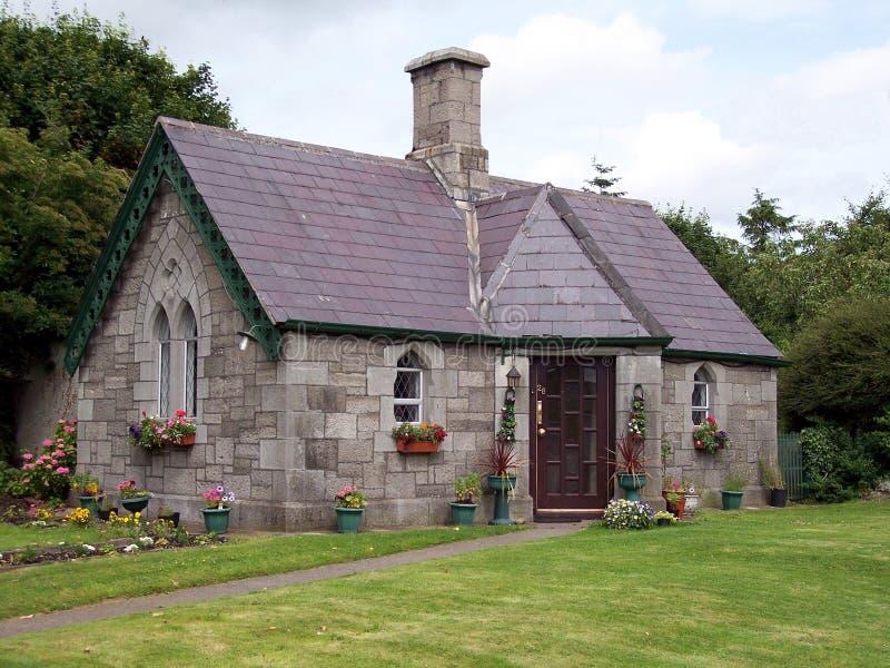 Haus des Pastors, Klingen, Co. Dublin lizenzfreie stockbilder