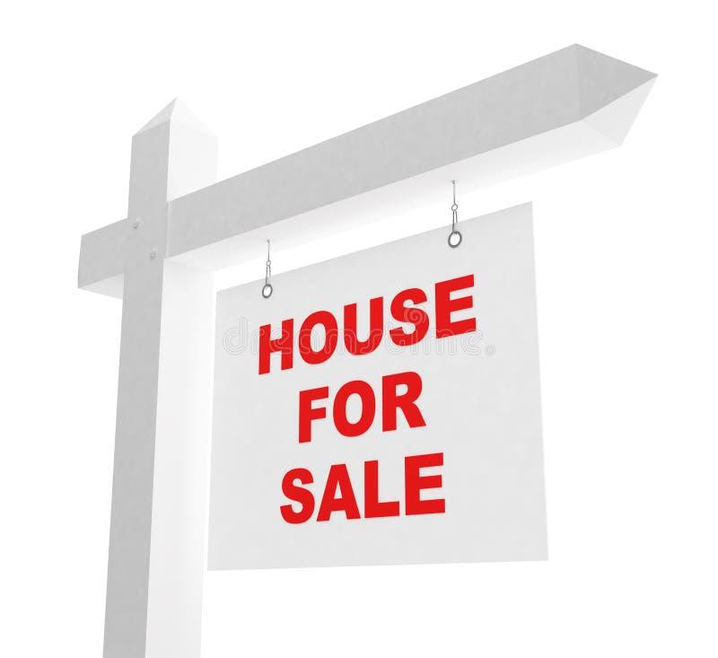 Haus des Verkaufs stock abbildung