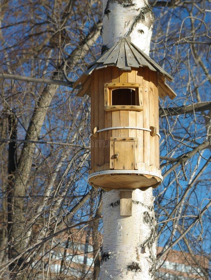 Haus des Vogels lizenzfreie stockfotos