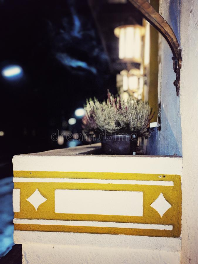 Haus-Eintritt Bokeh stockbild