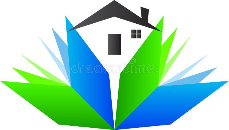 Haus für Bildung lizenzfreie abbildung