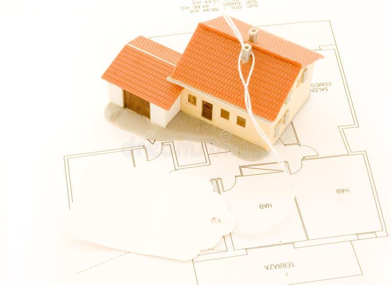Haus für Verkauf lizenzfreie stockbilder