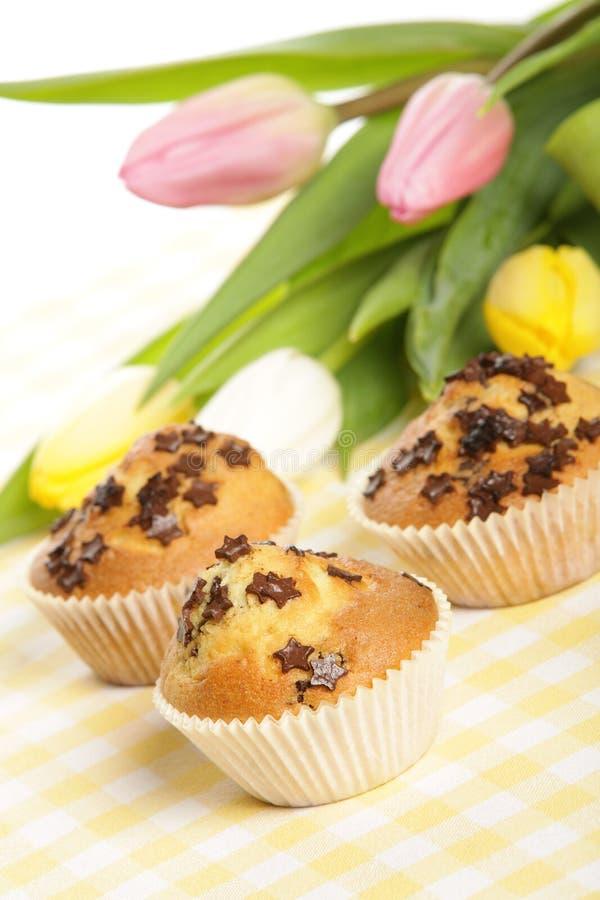 Haus gebackene Muffins stockfotografie