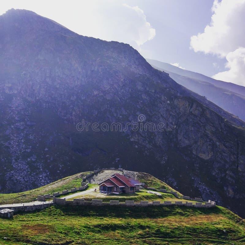 Haus im Paradies stockfoto