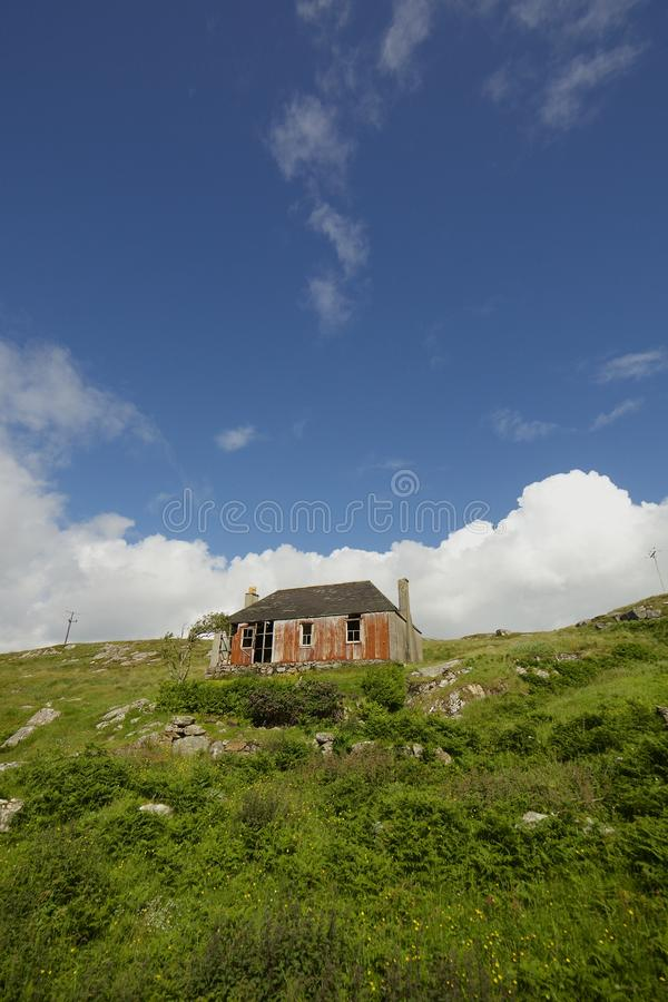 Haus-Insel von Scalpay lizenzfreie stockfotografie