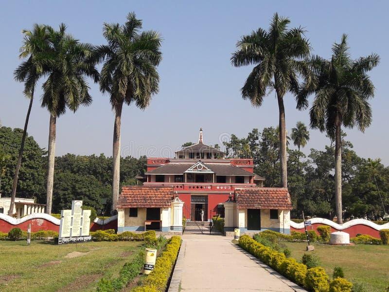 Haus Khuti Bari Rabindranath Tagore stockfotos