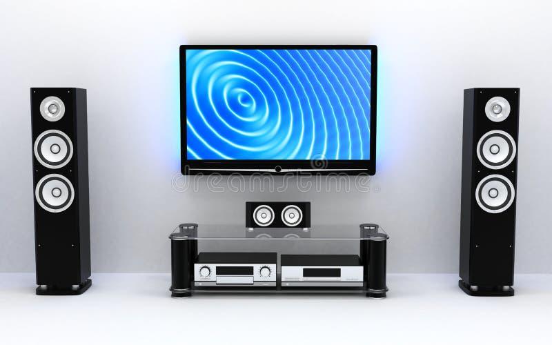 Haus-Kino vektor abbildung