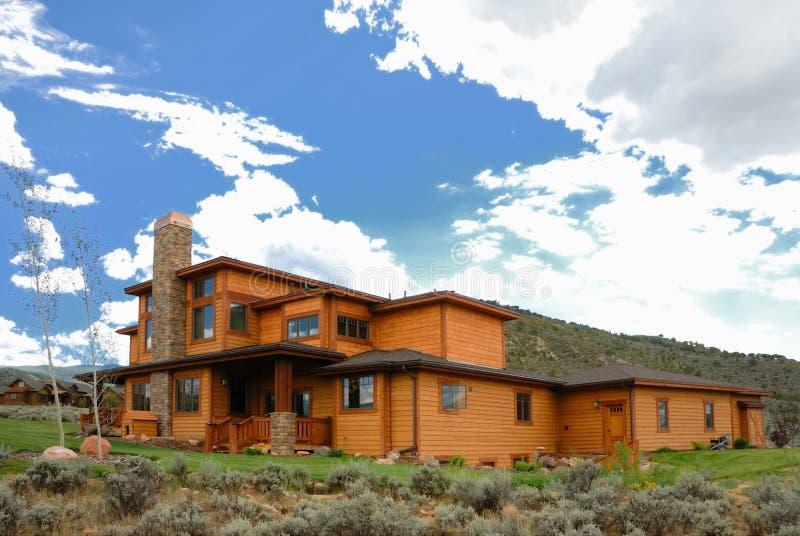 Haus in Kolorado stockbilder