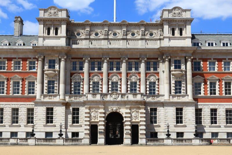 Haus Londons Admiralität stockbild