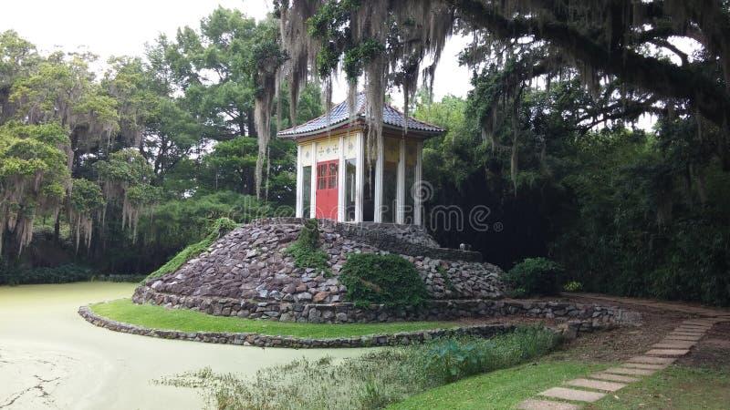 Haus Louisianas Buddha stockfotos