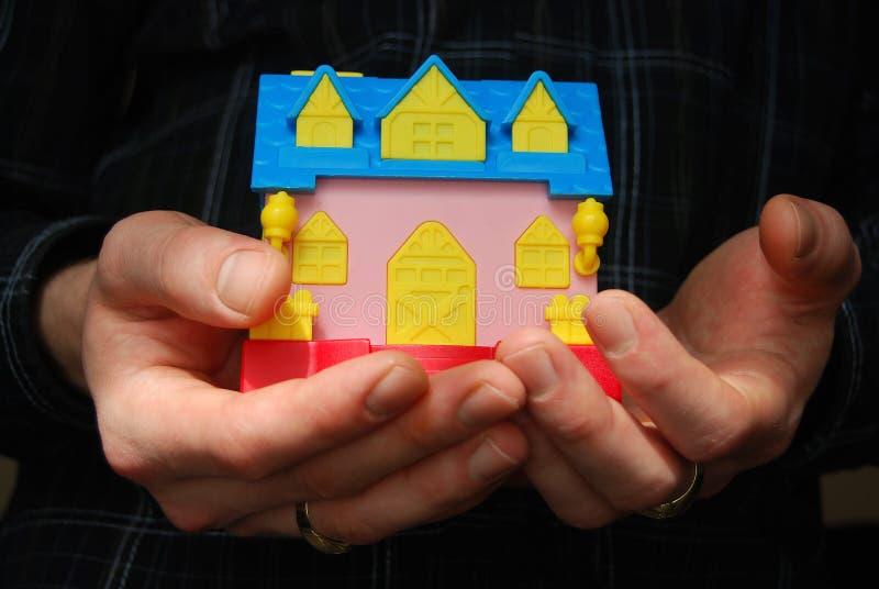 Haus meiner Träume lizenzfreies stockfoto