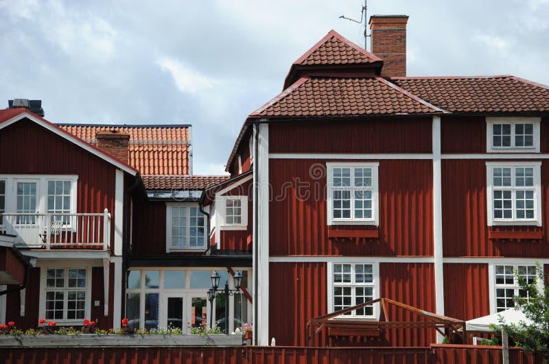 Haus mit Lebkuchen lizenzfreies stockfoto