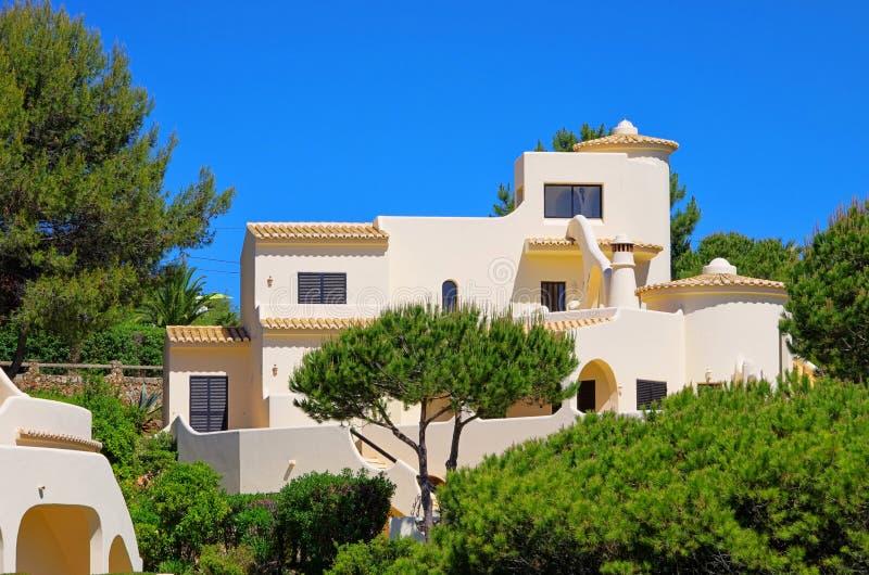 Haus Mittelmeer lizenzfreies stockfoto