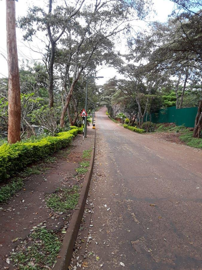 Haus Nairobi Kenia lizenzfreies stockbild