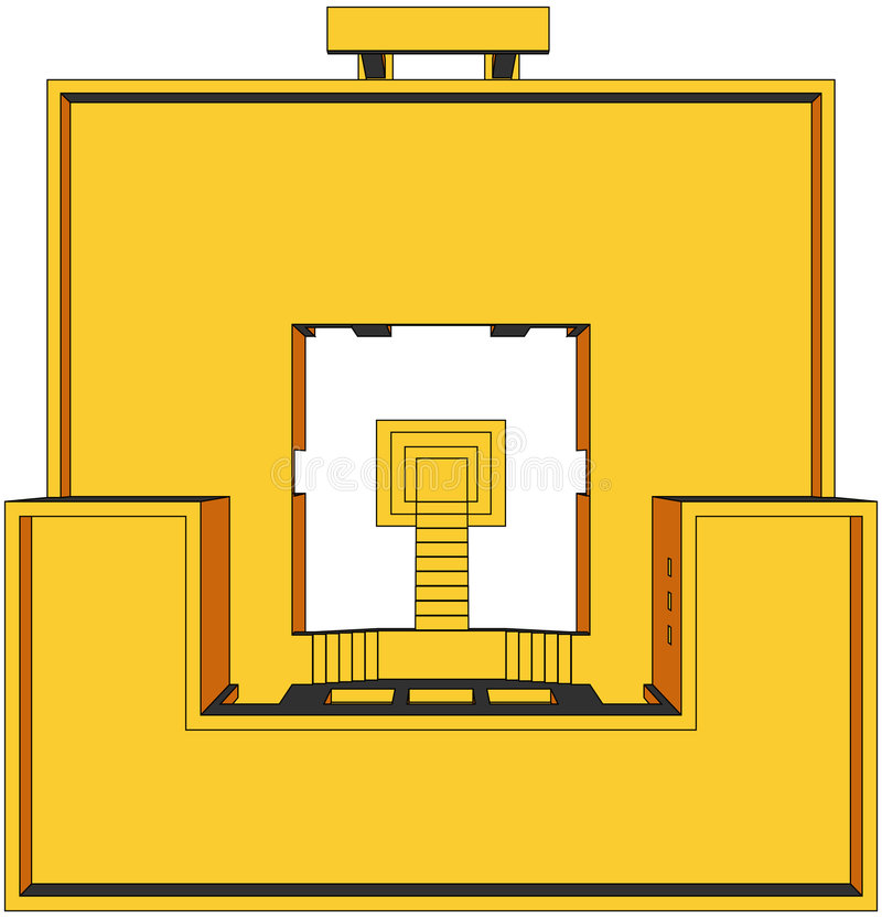 Haus-Perspektive 10 lizenzfreie abbildung