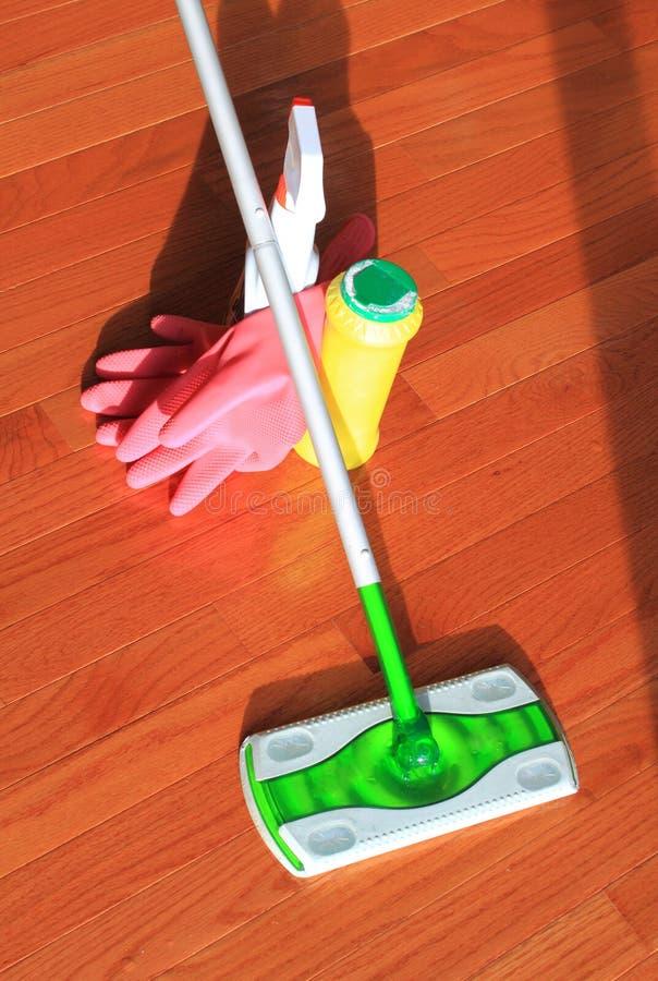 Haus-Reinigungs-Hilfsmittel stockfotos