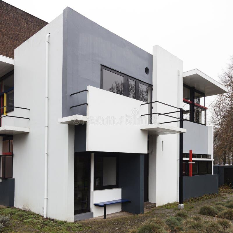 Haus Rietveld Schroder In Der Niederländischen Stadt Von Utrecht In ...