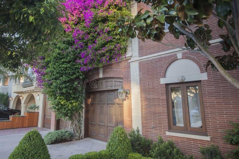 Haus in San Francisco lizenzfreie stockfotografie