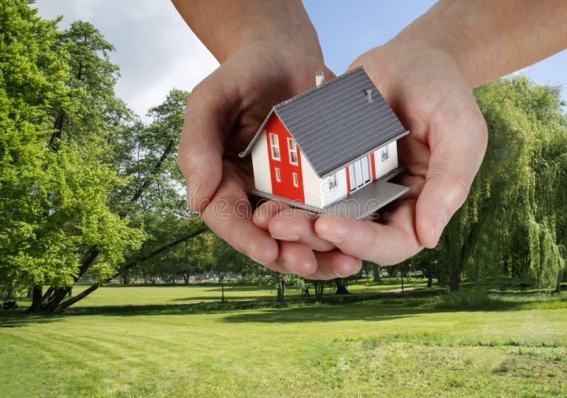 Haus- und Gebäudeplan lizenzfreie stockfotos