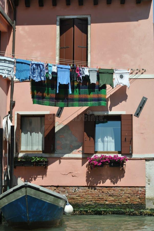 Haus in Venedig lizenzfreies stockbild