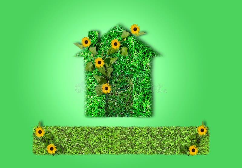 Haus verde imagen de archivo