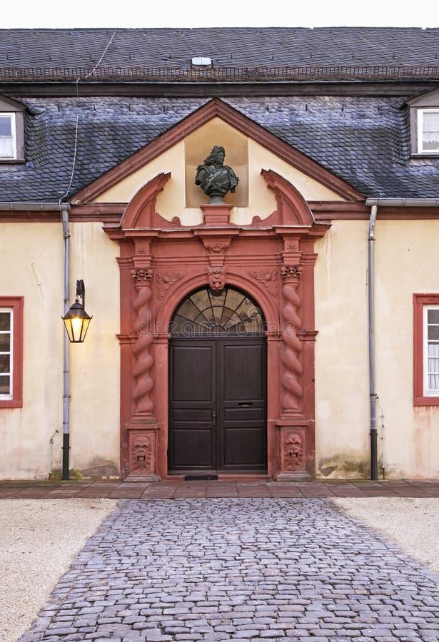 Haus von Landgraves im schlechten Homburg deutschland stockbild