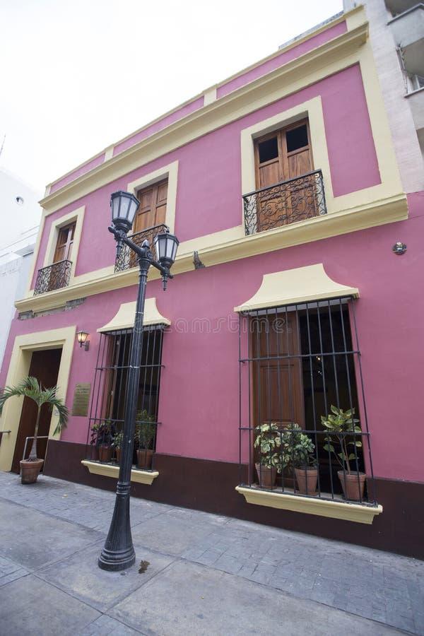 Haus von Simon Bolivar lizenzfreie stockbilder