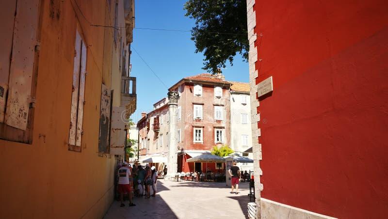 Haus Zadar lizenzfreies stockfoto