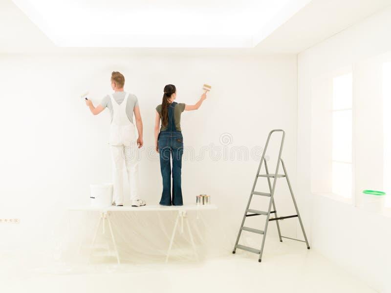 Hausarbeitfunktionsfortschritt stockfoto