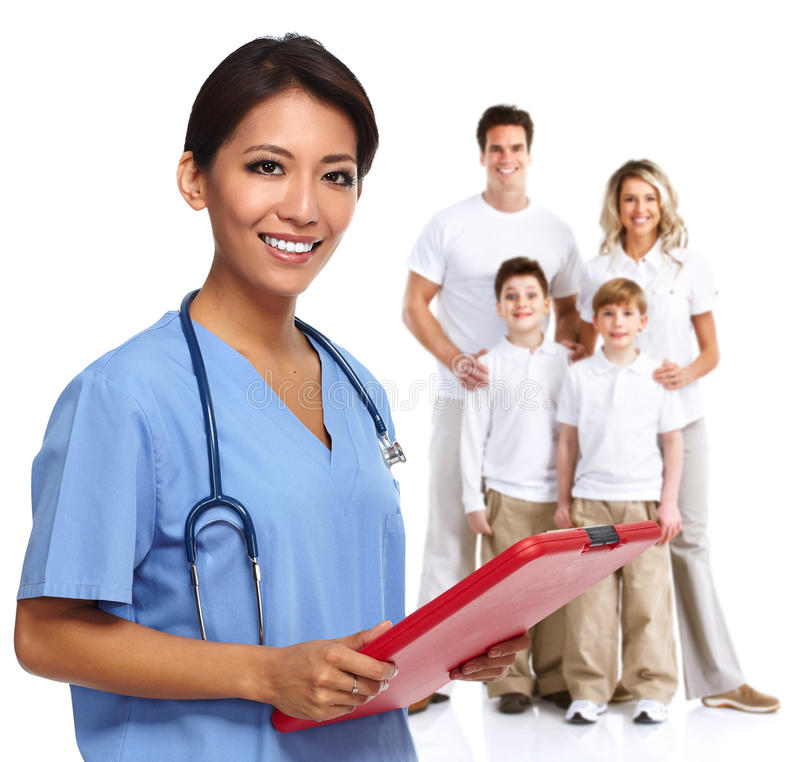 Hausarzt lizenzfreies stockfoto