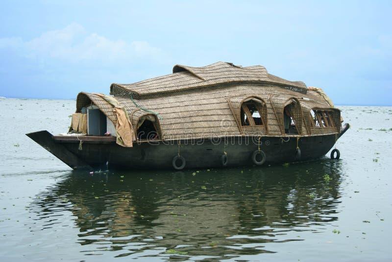 Hausboot lizenzfreie stockbilder